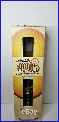 Aladdin Genie Incandescent Oil Lamp Model # C6103M NOS Solid Brass Burner VTG