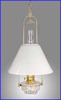 Aladdin Item No. BH715-716, Deluxe Glass Hanging Lamp