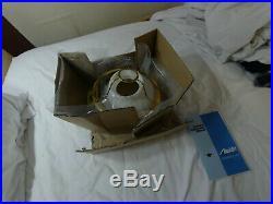 Aladdin Kerosene Brass Heritage Incandescent Oil Lamp with White Swirl Shade