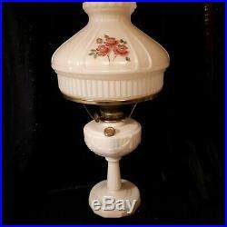 Aladdin Kerosene Lamp Alacite Lincoln Drape Nu Type Model B Chicago & 3 Mantles