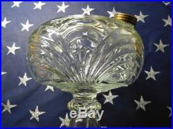 Aladdin Kerosene Lamp BELL STEM Washington Drape