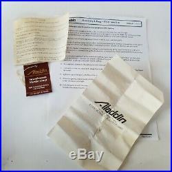 Aladdin Kerosene Mantle Lamp Model B139S Vintage 1984 with Shade Original Box