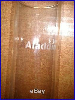 Aladdin Kerosene Mantle Lamp New Vintage Blue Dogwood Shade NIB BE-2312-61