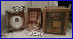 Aladdin Kerosene Mantle Lamp New Vintage Crystal Glass Shade N601 NIB BE-2312-53