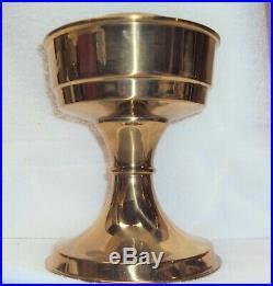 Aladdin Kerosene Mantle Lamp & Shade Circa 1970s NOS MIB England Brass Base