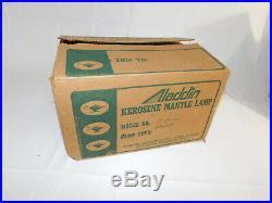 Aladdin Kerosene Mantle Lamp Vintage NEW Old Stock K-Base 23127 in Orig Box