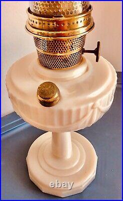 Aladdin Kerosine Hurricane Lamp #12 Made By Mantle Lamp Co. Electrified