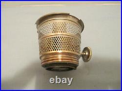 Aladdin Lamp B104 Corinthian With Advertising Label kerosene or oil lamp