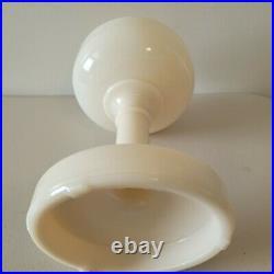 Aladdin Lamp Base Ivory Simplicity SUPER NICE
