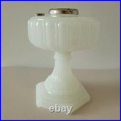 Aladdin Lamp Base White Moonstone Cathedral SUPER NICE