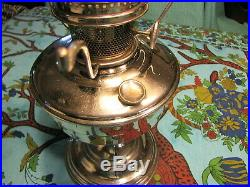 Aladdin Lamp Model 12 With Glass Shade