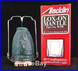 Aladdin Lamp Model A & B Restoration Kit Chimney, Mantle, Wick & Flame Spreader