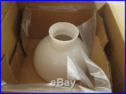 Aladdin Lamps Brass Heritage Lamp with White Student Shade #B2301-540 NIB NOS