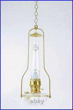 Aladdin Lamps Deluxe Glass Hanging Lamp, Clear (less shade), #BH715