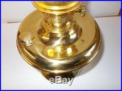 Aladdin Lamps Kerosene Brass 100th Anniversary Parlor Lamp Complete Lamp