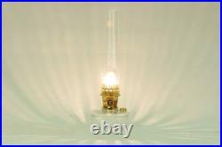 Aladdin Lamps Kerosene Clear Genie III with Brass Hardware C6107 or 100007060