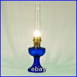 Aladdin Lamps Kerosene Cobalt Lincoln Drape Brass Hardware #100007008