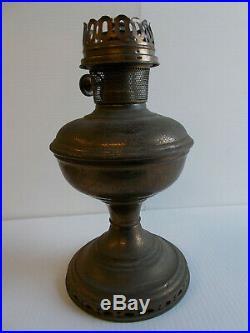 Aladdin Lamps Kerosene Model 11 Nickel Plated FONT & Partial Burner ONLY