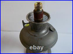 Aladdin Lamps Model 9 Nickel Plated Complete Lamp