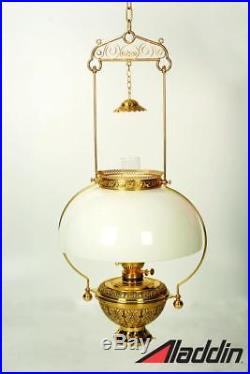 Aladdin Lamps Schoolhouse Hanging Lamp Double Flat Wick Oil Lamp #1218360