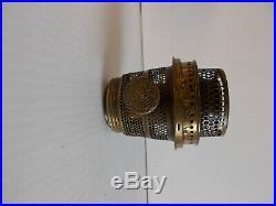 Aladdin Lamps Tall Lincoln Drape Lamp in Alacite with Model A Burner kerosene