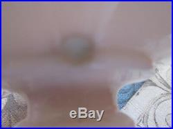 Aladdin Lincoln Drape Alacite glass Kerosene / Oil Lamp/ Loxon Chimney Shade