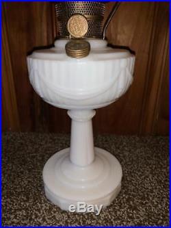 Aladdin Lincoln Drape Kerosene Lamp with Nu -Type Model B Made in U. S. A