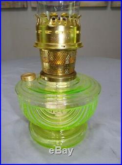 Aladdin Lincoln Drape Ruby Red Glass Kerosene Oil Shelf Bracket Lamp Font 2014
