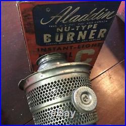 Aladdin Lot of 4 Model C Nashville Oil Lamp Burner with Box