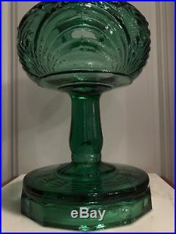 Aladdin Mantle Kerosene Oil B-54E Emerald Green Lamp