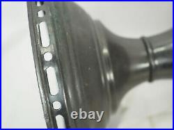 Aladdin Mantle Lamp 12 straight side Kerosene Oil Model B Burner Lox-on chimney