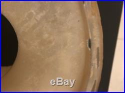 Aladdin Mantle Oil Kerosene Model 1245 Venetian Art Craft Tan STRAW Vase Lamp