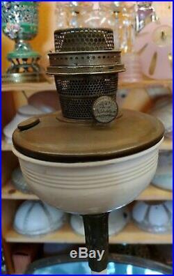 Aladdin Mantle Oil Kerosene Model B Floor Lamp With Original Paint