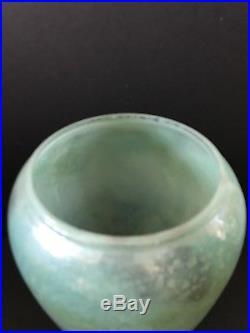 Aladdin Mantle Oil Kerosene Variegated Green Model 12 Vase Lamp