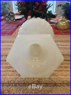Aladdin Mantle Oil Lamp Moonstone Cathedral White With Model B Burner Kerosene