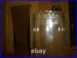 Aladdin Model 11 Table Lamp Fitted with a #301 Shade. Complete Lamp w Minor Wear