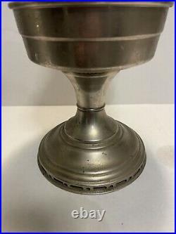 Aladdin Model 12 Oil Kerosene Conplete Nickel Table Lamp