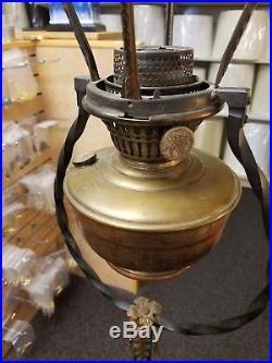 Aladdin Model 1251 Bird Cage Floor Lamp Circa 1929 Still with original burner