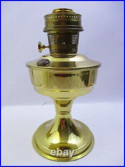 Aladdin Model 23 Brass Kerosene Oil Table Lamp, Appears Unused (bpa)