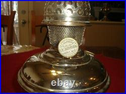 Aladdin Model 6 Hanging Lamp Font, circa 1915-1916