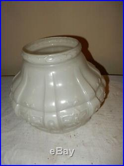 Aladdin Model #7/8 Hanging Lamp # 416 Enamel Glass Shade