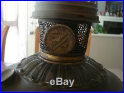 Aladdin Model #7 Table Lamp, Has #7 Generator (Flame Spreader) circa 1917-1919