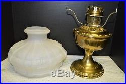 Aladdin Model 8 Table Lamp 401 Shade #8 Burner & #8 Generator 1919 Art Nouveau