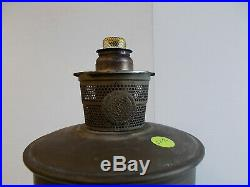 Aladdin Model A Lox On Oxidized Bronze B137 Complete Lamp