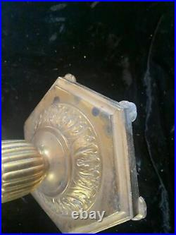Aladdin Model B Nu-Type Brass Vintage Kerosene Lantern Lamp
