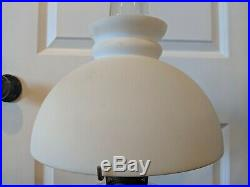 Aladdin Model B Nu-Type Cathedral Lamp withShade & Chimney