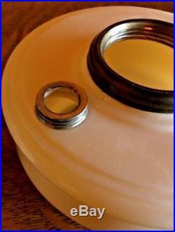 Aladdin Model B Original Alacite Glass Kerosene Oil Font Bracket Table Lamp Toes