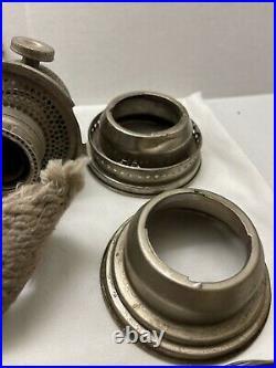 Aladdin Model C Oil Kerosene Lamp Nickel Burner Parts
