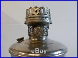 Aladdin Nickel Heel-less Model 12 Complete Lamp