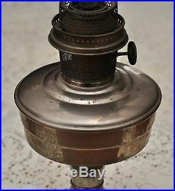 Aladdin Nickel PlatedKerosene Lamp with Model 12 Burner (Chimney not included)